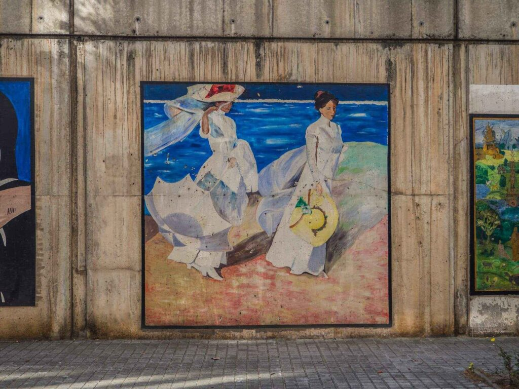 Barcelońska Galeria sztuki sorolla