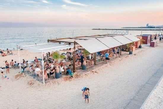 Beach bar plaża