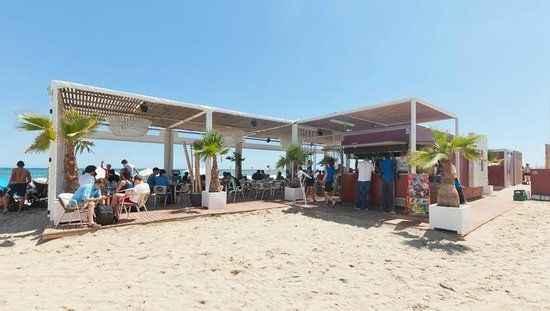 Beach bar na plaży
