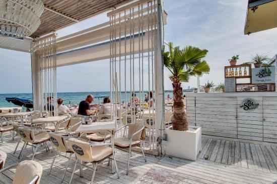 Beach bar widok na plaże