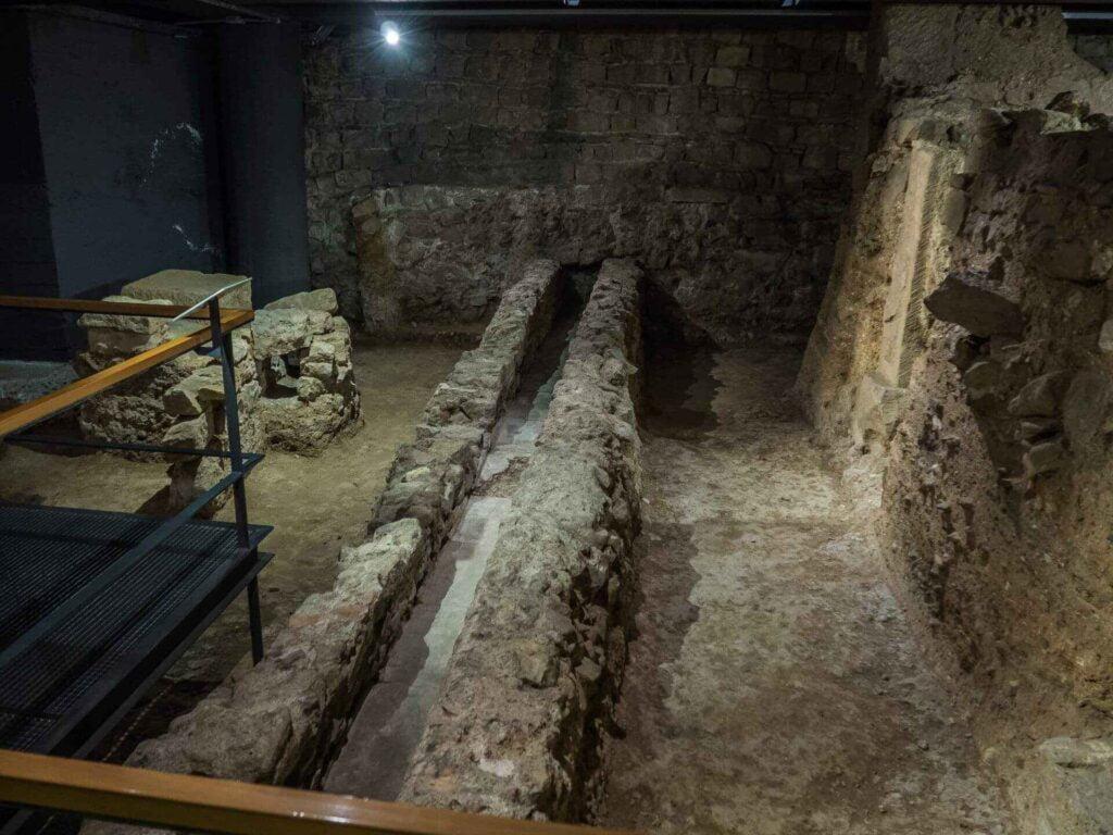 muzeum historii miasta Barcelona stare miasto