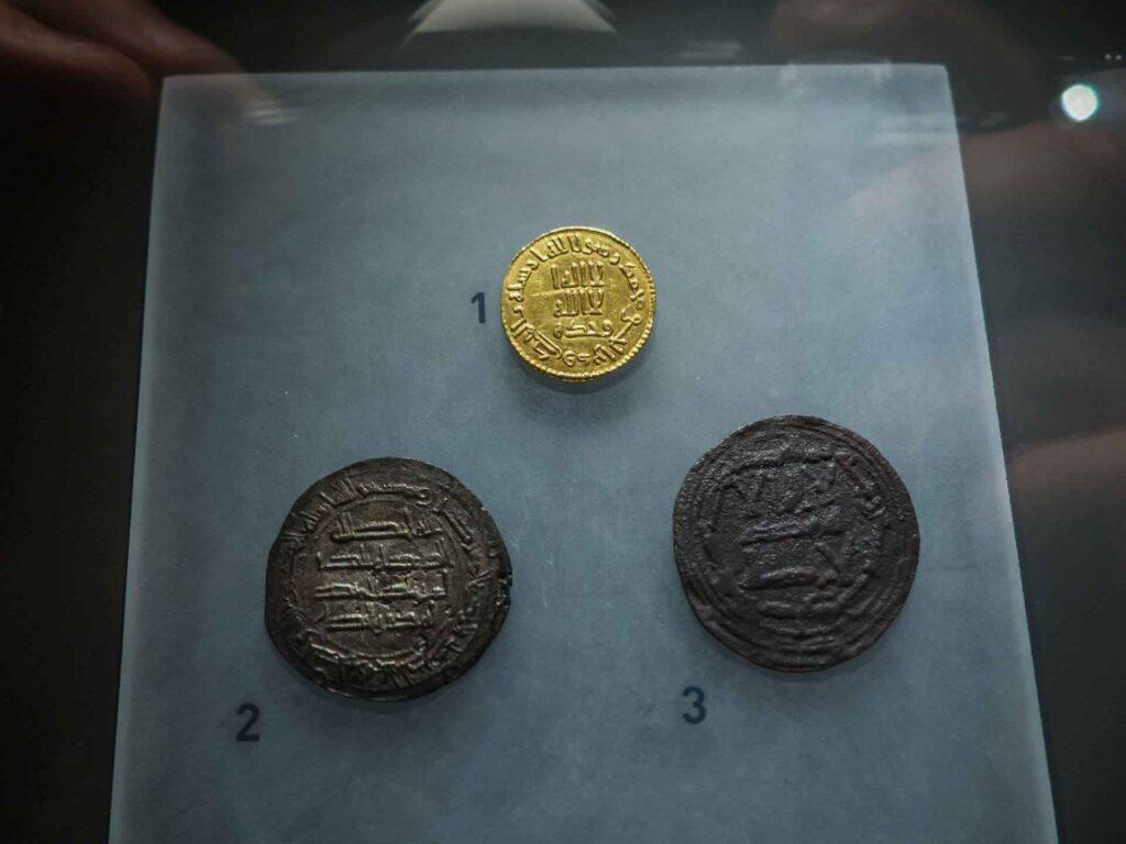 muzeum historii miasta Barcelona monety
