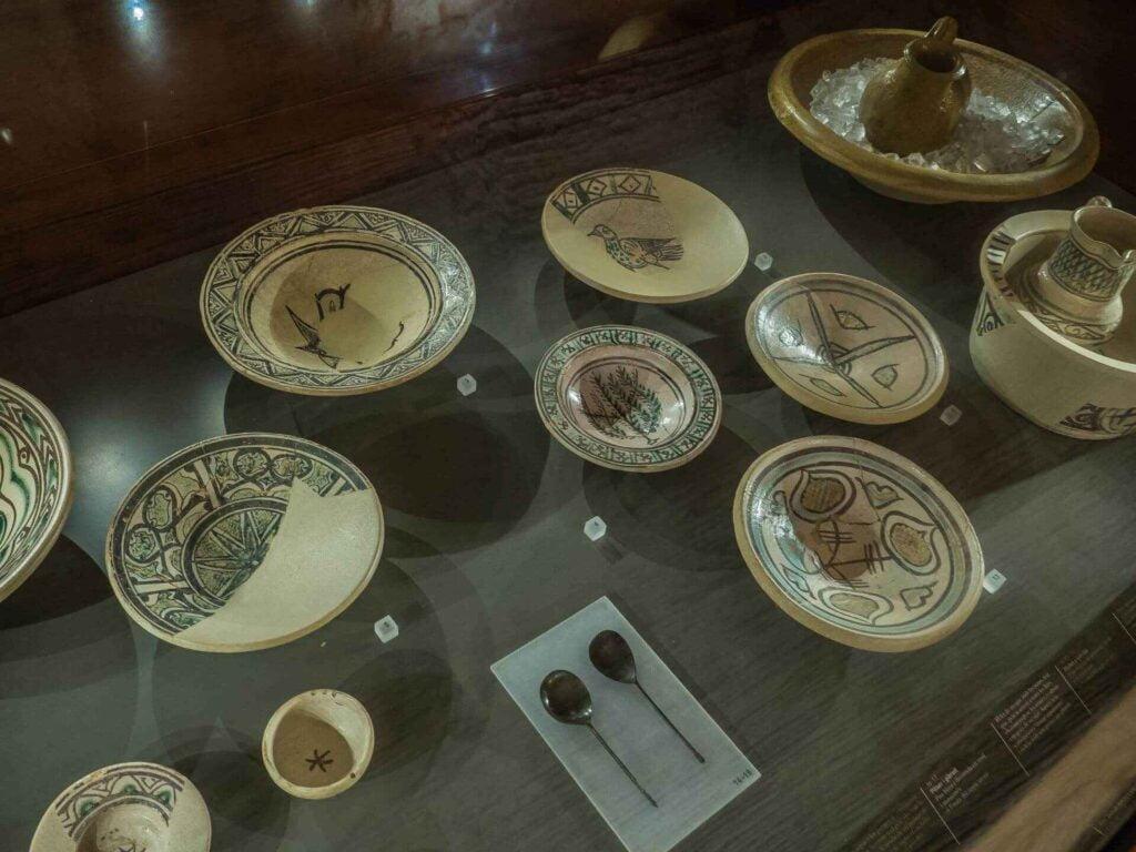 muzeum historii miasta Barcelona talerze antyczne