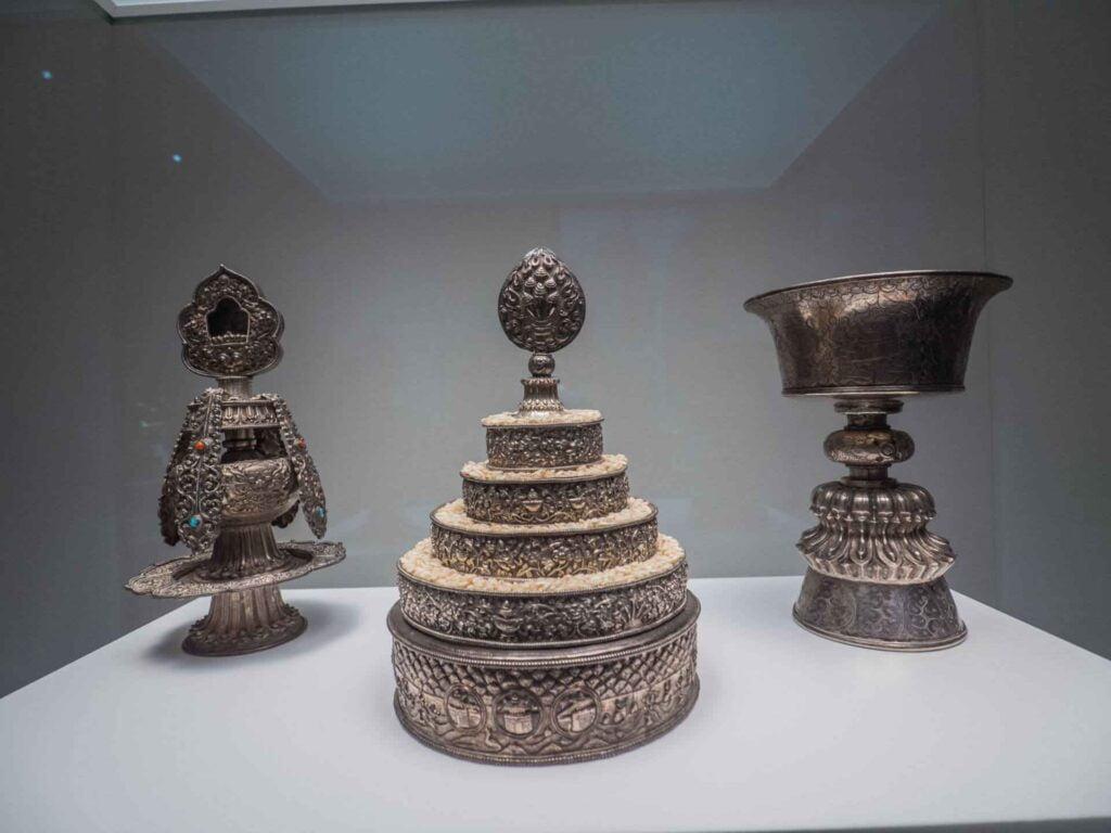 muzeum kultur świata przyrządy liturgiczne z tybetu