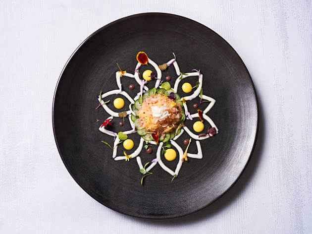 Roca Moo restauracja z gwiazdką michelin danie obiadowe
