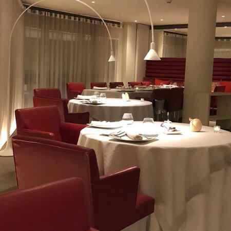 restauracja angel wnętrze sali