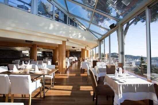 Mirabe wnętrze restauracji