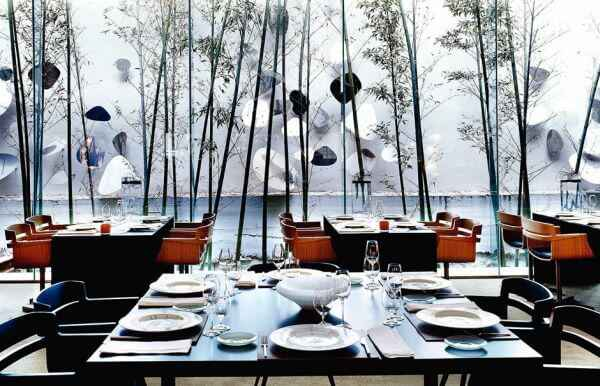 Roca Moo restauracja z gwiazdką michelin sala