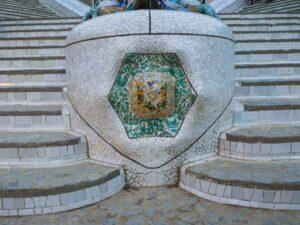 schody w Parku guell