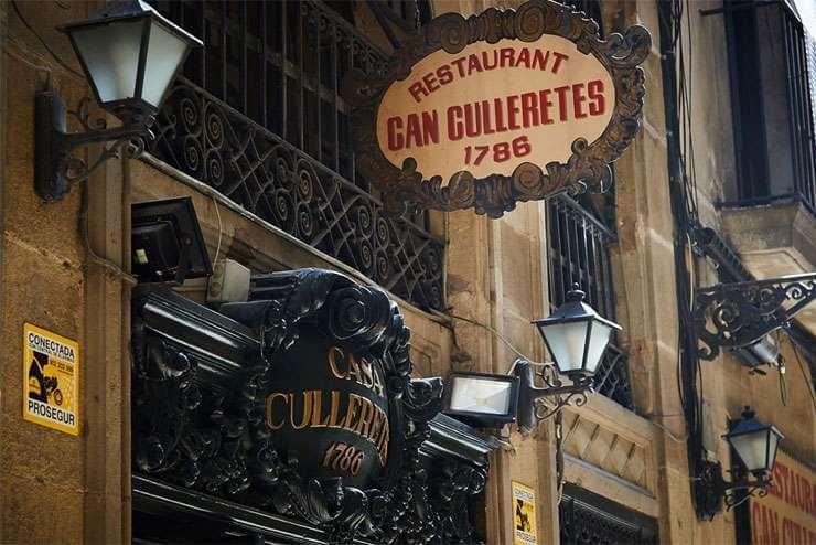 Najstarsza restauracja w Barcelonie