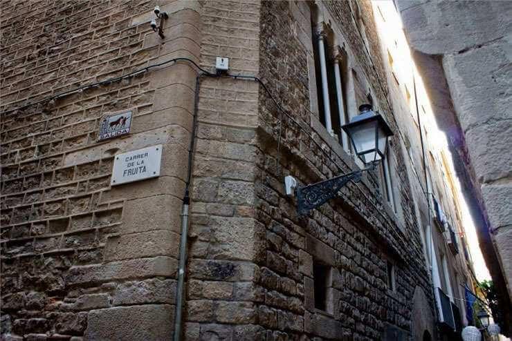 najstarsze domy w Barcelonie