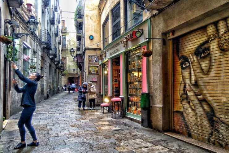 sekrety najsłodszej ulicy w Barcelonie